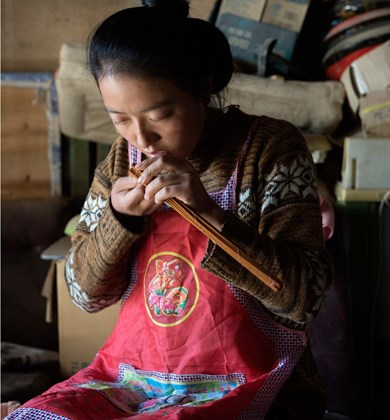 The Tibetan incense maker