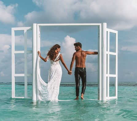 Couple Goals in the Maldives